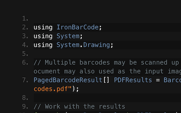 The C# Barcode and QR Library | Iron Barcode